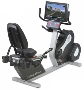 Expresso Fitness S2r Recumbent Exercise Bike Fitness