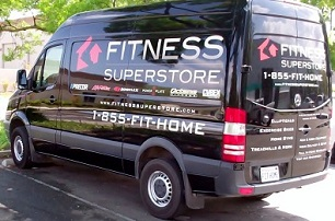 Fitness Superstore Mercedes Sprinter Van