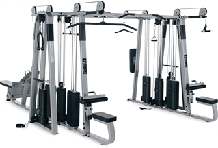 Precor 820 Multi Gym 8 Stack 10 Station Fitness Superstore